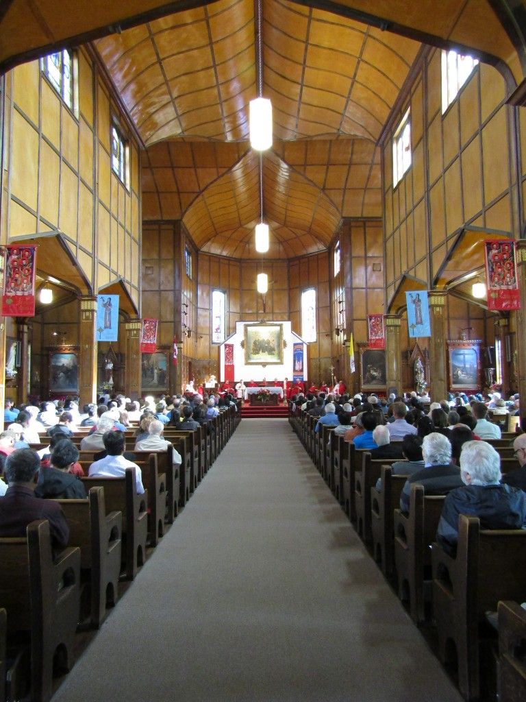 Our Feast Day celebrations at the Shrine Church 2015