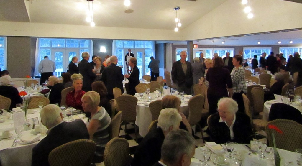 Tiawenk Dinner 2015 at Brooklea Golf And Country Club in Midland, Ontario