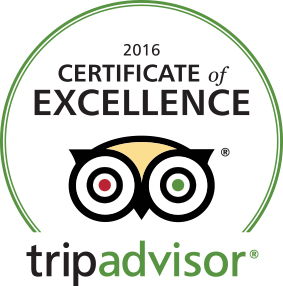TripAdvisor_Certificate of Excellence