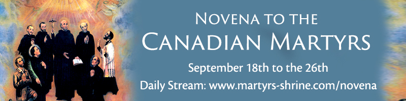 Click here to watch the daily novena prayers from September 18 to the 26